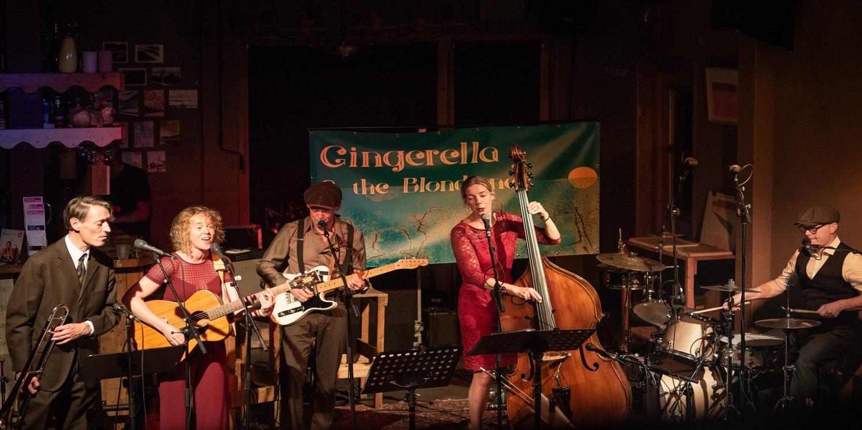 Art, Music & Wine – Gingerella and the Blondtones: vintage swing- en amusementsmuziek (nieuwe datum 5 september)