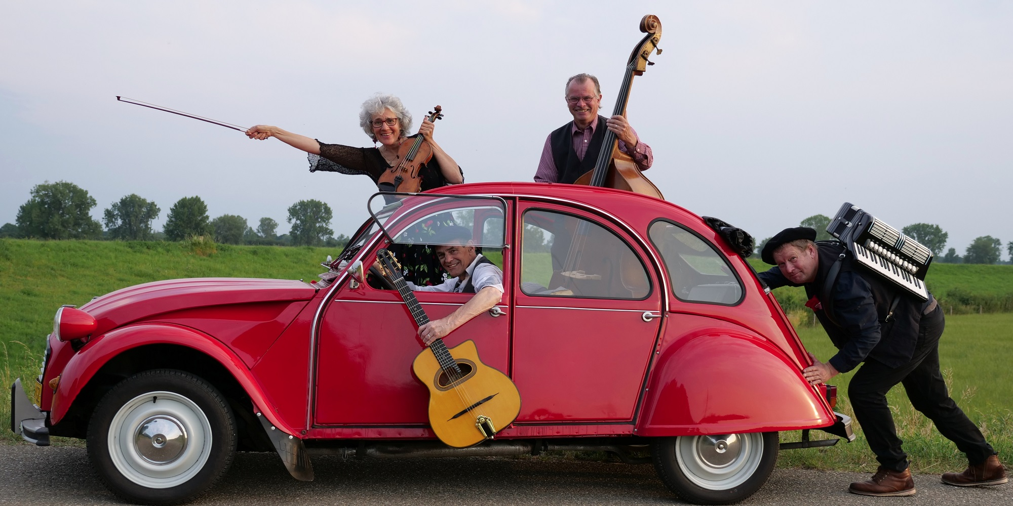 Art, Music & Wine – Les Copains: levendige Franse chansons