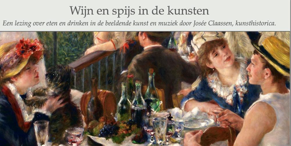 Art, Music & Wine – Wijn en Spijs in de kunsten