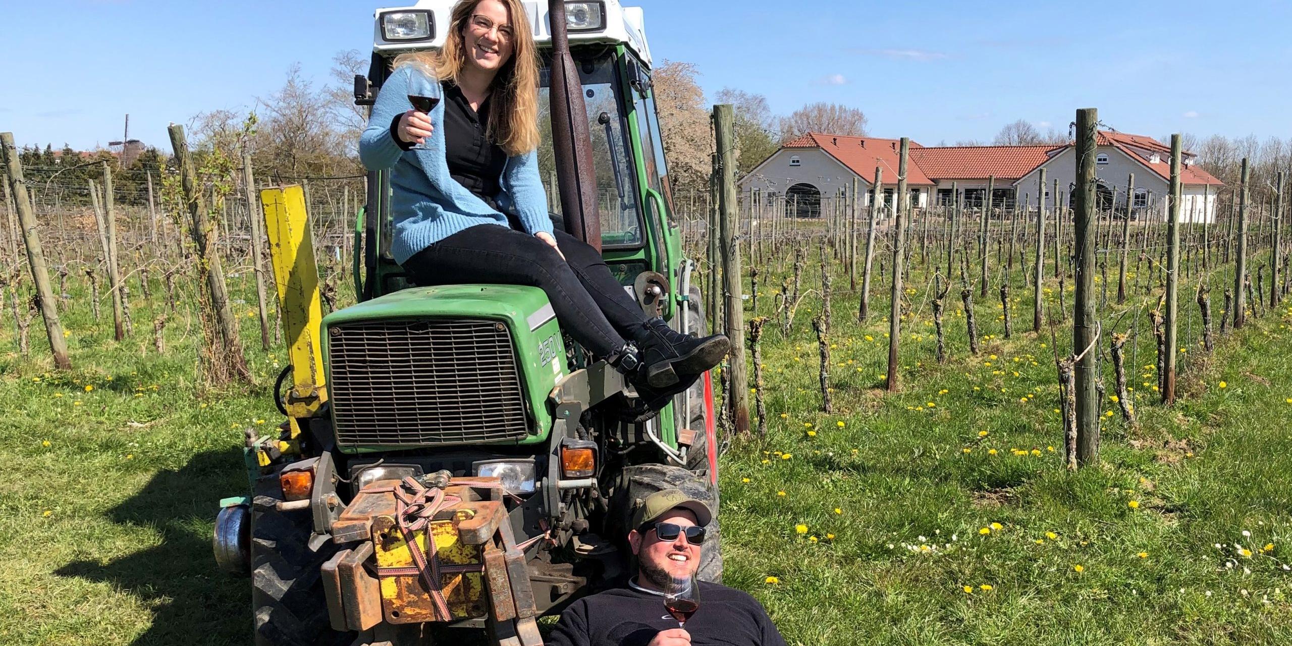 """""""Wijnboer voor een dag"""", meewerkdag in wijngaard De Colonjes"""